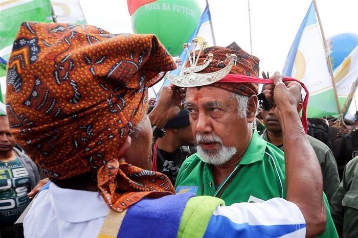 Xanana Gusmão demite-se do CNRT — Timor