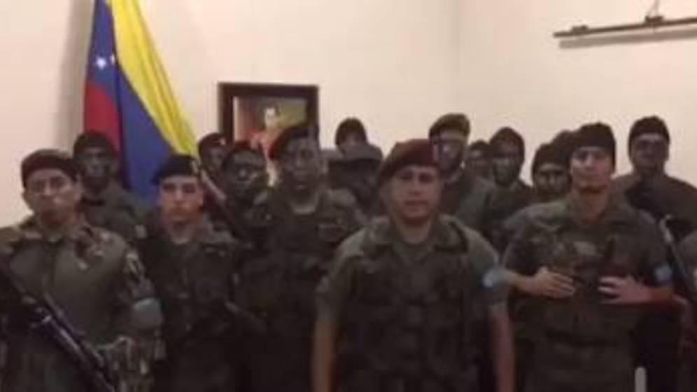 Autoridades dizem que reprimiram uma rebelião militar — Venezuela