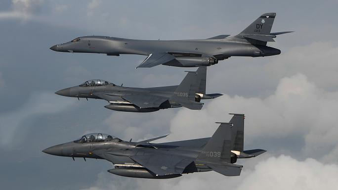 Bombardeiros dos EUA voam próximo ao litoral da Coreia do Norte — Pentágono