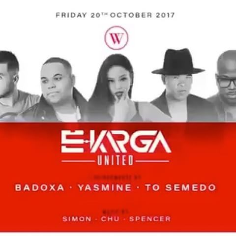 To Semedo, Badoxa e Yasmine no Black e White Club