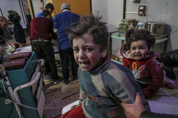 Mais de 200 civis mortos em ataque na Síria