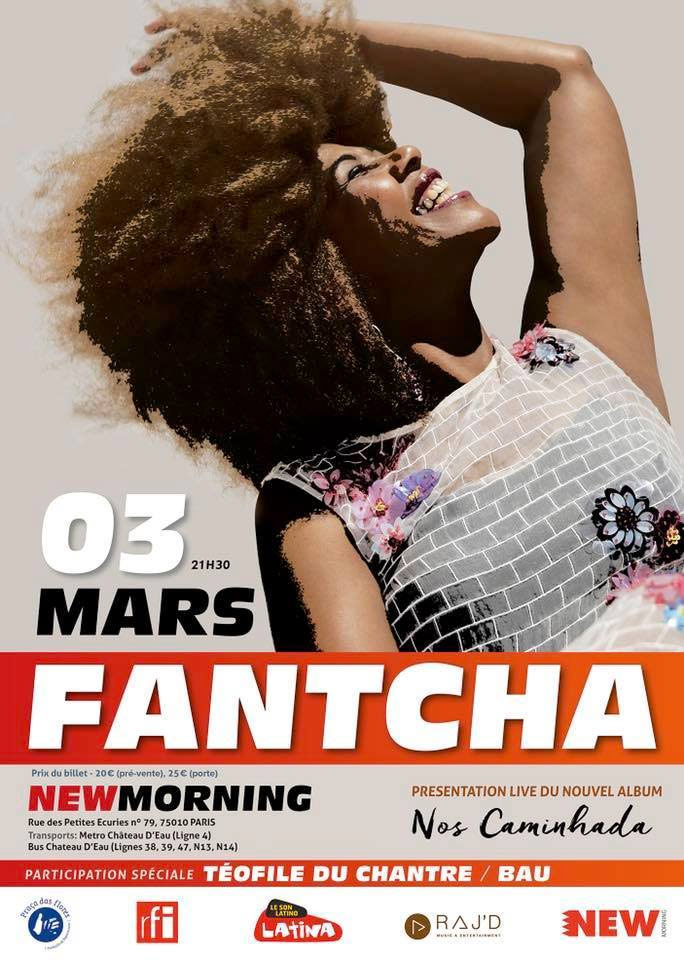 Fantcha ao vivo no New Morning