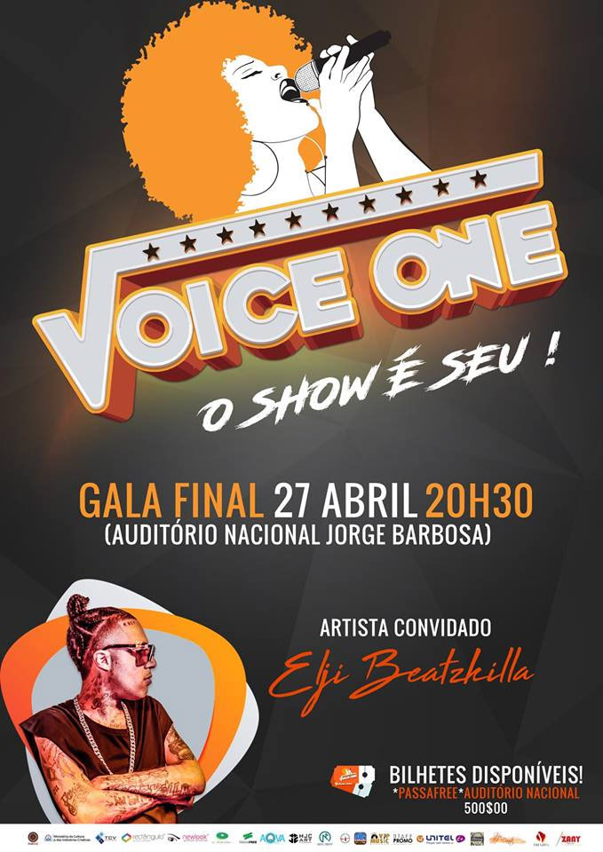 """Gala Final Voice One"" convidado especial Elji Beatzkilla no Auditório Nacional"