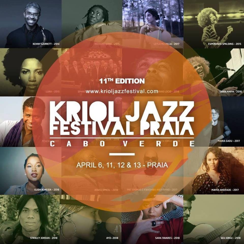 praia  kriol jazz festival e concurso de cartaz
