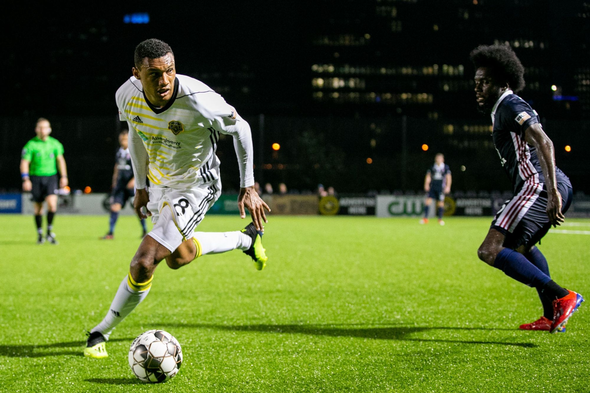 Dos Santos, do Riverhounds SC, é o vencedor do USL Championship Player of the Week