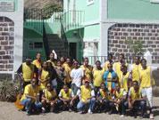 Santo Antão: Igreja dos Santos dos Últimos Dias pinta escola de Chã de Igreja