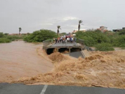 Boa Vista: Ponte  Ribeira d'água cai e deixa populações isoladas