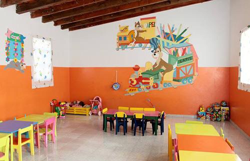 mobiliário para jardim infantil